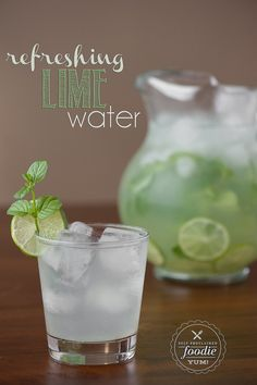 Next time you entertain, your guests will love it if you set out a pitcher of Refreshing Lime Water. Its my favorite way to stay hydrated. {Self Proclaimed Foodie}