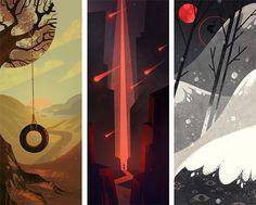 Inspirational Art Work • ghostbri: some stuff for graduation, more...