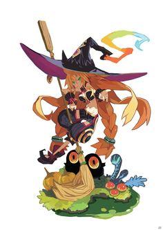 """魔女様の使い魔となって""""自由悪逆""""の世界を楽しく寄り道!ダークなファンタジー世界を舞台としたPS3「魔女と百騎兵」が2012年春に登場"""