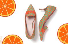 I have these shoes    http://www.shoe-tease.com/wp-content/uploads/2012/07/joe-fresh-shoes-loafers-orange-yellow-2012-fashion.jpg