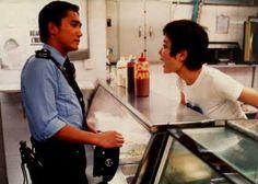 Chungking Express - Faye Wong & Tony Leung Chiu Wai Cinema Movies, Cinema Cinema, Faye Wong, Chungking Express, Dennis Brown, Ang Lee, Film Quotes, Love Movie, Cinematography