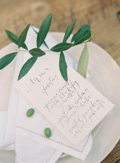 Calligraphy by Cotton Blossom | Simple & Sweet Wedding Invitations | Magnolia Rouge + Jen Huang Photo