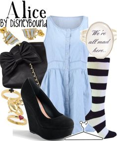 Alice by DisneyBound
