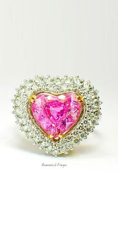 High Pink Jewellery | Le Vian Pink Sapphire Ring