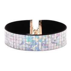 Forever21 Holographic Grid Choker ($6.90) ❤ liked on Polyvore featuring jewelry, necklaces, accessories, choker necklace, thick choker necklace, velvet necklace, forever 21 and velvet jewelry