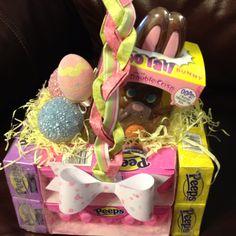 Edible Easter basket for my grandchildren.