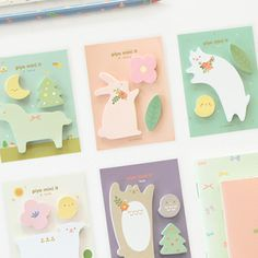 Piyo Sticky Note Set ! so cute