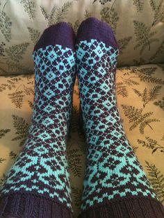 Ravelry: Garland Socks pattern by Lesley Melliship