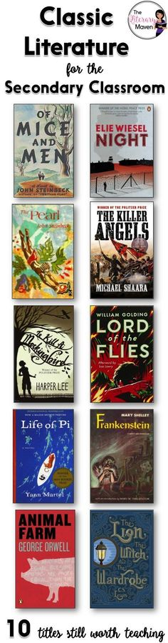 Classic literature is considered classic for good reason; it's characters are relatable and it's themes are timeless. If you are making additions to or revising the reading list for your English Language Arts course, here's 10 classic literature titles th