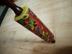Decorative rolling pin by ZaamotanaZofja on Etsy