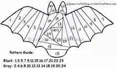 Iris folding bat