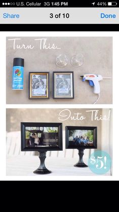DIY Picture Frame!
