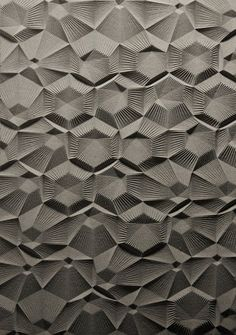 cool 3D texture, I like geometric structure
