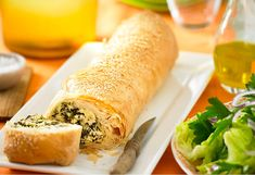 This savoury strudel makes a wonderful light lunch when served with a side salad.