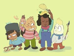 "pearlitariat: "" a whole pantry of friends!! """
