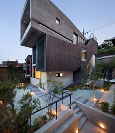 Massive Three-Level Family Residence in South Korea: H House