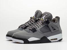 Air Jordan 4 Retro in Cool Grey Jordan 4, Nike Air Max Jordan, Jordan Retro 4, Air Jordan Sneakers, Jordan Shoes, Jordan Outfits, Latest Sneakers, Sneakers Fashion, Hypebeast
