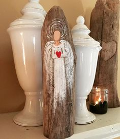 I love finding the perfect piece of #driftwood  We went down to the river today to find more. This one seemed perfect for her. What do you think? #painting #angel #handmadeisbetter #taterbuggin #handmade #art #decor #buyhandmade #memphis #tennessee #choose901 #homedecor #thelovelyhandmade #craftcurate #ilovememphis #creativelifehappylife #creatorcommunity #supportsmallbusiness #shopsmall #lovemymakers #thehandmadeparade