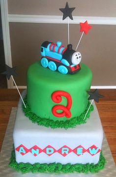 Thomas the train birthday cake | Flickr - Photo Sharing!