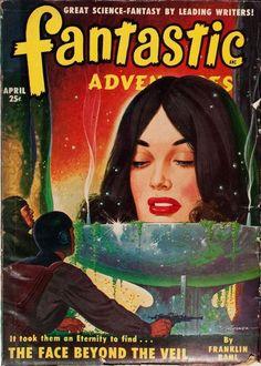 Fantastic Adventures, April 1950