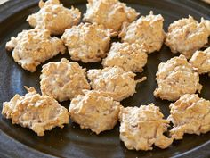 Toasty Coconut Macaroons : Alton's easy macaroons use only four ingredients and take just 30 minutes to make. Bake until they develop a golden brown outside; they'll still be nice and moist in the middle.