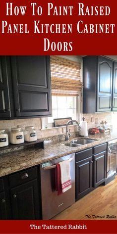 Elegant Finished Kitchen Cabinet Doors