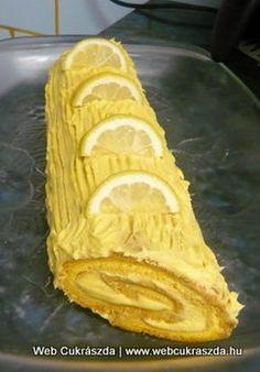 Austrian Recipes, Hungarian Recipes, Cookie Recipes, Dessert Recipes, Lemon Recipes, Food And Drink, Sweets, Bread, Baking