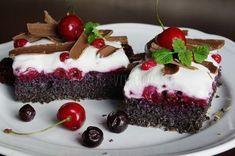 Makový osviežujúci koláčik /bez múky/ | Pečené-varené.sk