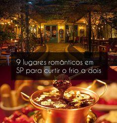 Seja para uma data especial ou simplesmente para aproveitar o melhor do frio, um passeio a dois sempre é uma ótima pedida. A boa notícia é que a cidade de São Paulo possui muitos cantinhos charmosos e atraentes que fazem qualquer um se encantar - e que deixam qualquer clima ainda mais romântico. Travel List, Brazil, Places To Visit, Wanderlust, Tours, Projects, Life, Romantic Moments, Healthy Tips
