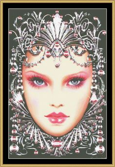 Birthstone Collection - October / Rose Zircon [MG-82] - $16.00 : Mystic Stitch Inc, The fine art of counted cross stitch patterns