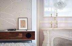 Go Inside Gwyneth Paltrow's Light and Airy NYC Apartment via @MyDomaine
