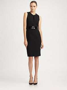 Milly Liv Belted Dress