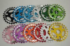 New BMX 25T Bicycle Sprockets Chainring Alloy 6061T 23.8mm Pink