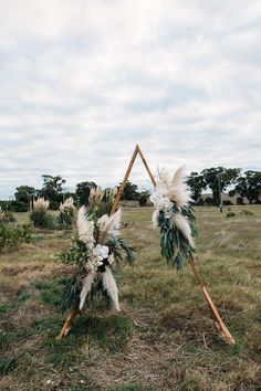 Wedding Trends Little Love Story Triangle wedding arch / Peggy Saas Wedding Photographer / The Fremantle Creatives - Trendy Wedding, Boho Wedding, Floral Wedding, Perfect Wedding, Wedding Bouquets, Wedding Flowers, Wedding Day, Dream Wedding, Daytime Wedding