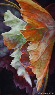 Artodyssey: Sheila M Evans / pastel