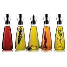 Infused Oils and Vinegars