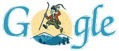 Josip Vandot's 130th Birthday (born 1884) [130 лет со дня рождения Йосипа Вандота] /This doodle was shown: 15.01.2014 /Countries, in which doodle was shown: Slovenia