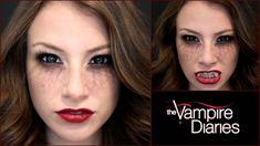 The Vampire Diaries: Halloween Makeup Tutorial!