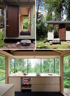 150 Square Feet: Modern, Modest & Cozy Finnish Cottage