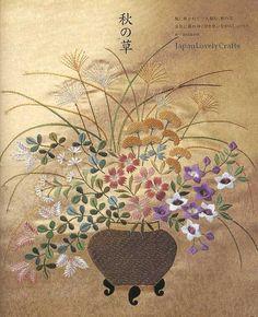 Traditional Japanese Embroidery Patterns by JapanLovelyCrafts