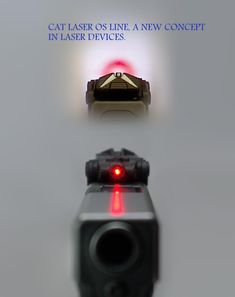 Glock with CAT Laser
