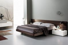 contemporary beds and modern bedroom decorating ideas in contemporary style