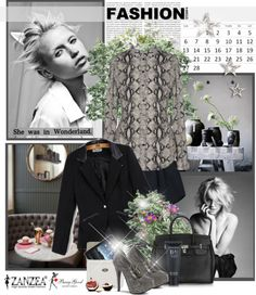 """""""She was in Wonderland"""" by christiana40 on Polyvore"""