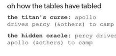 """Percy and Apollo in Titan's Curse vs Hidden Oracle 