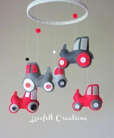 moviles de bebes con tractores - Buscar con Google