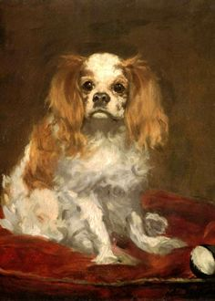 Cavalier King Charles Spaniel by Manet.