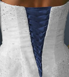Corset Kit Makes Wedding Gown Fit Perfect with Lace-up Back Black Blue RED Pink found on ebay