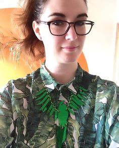 Me and Barry are off out into the sunshine. #tdsamplesale haul part 5.  #tattydevine #mytattydevine #tdsamplesale #parakeet #large #emerald #wishlist #Norwich #Norfolk by bellestarblue - Pinned by @FancyAsMilly on instagram -