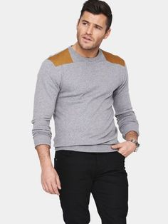 Goodsouls Mens Fashion Crew Neck Jumper, http://www.littlewoodsireland.ie/goodsouls-mens-fashion-crew-neck-jumper/1270378148.prd
