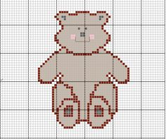 Country Cottage Crochet Bear
